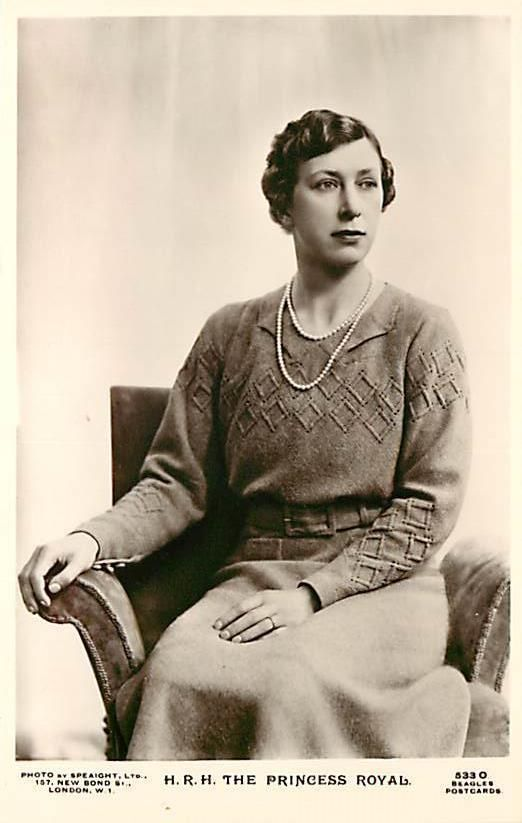 Mary, the Princess Royal of Great Britain, Paternal Aunt of the Queen