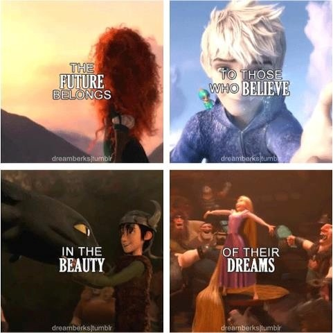 Rise of the brave tangled dragon. Inspirational.