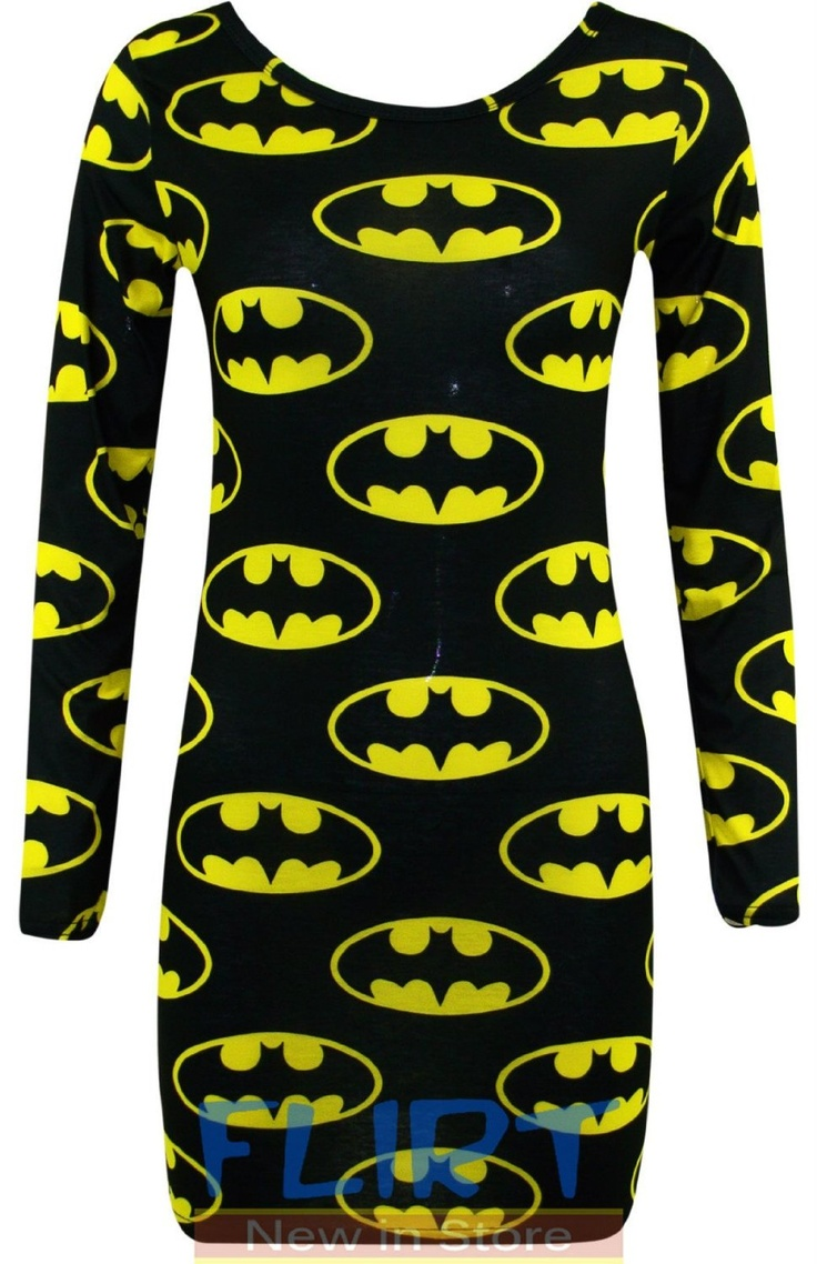 it's...it's a batman dress. lol could look cute if you wore it under something else. £9 @Tylatha Riisager
