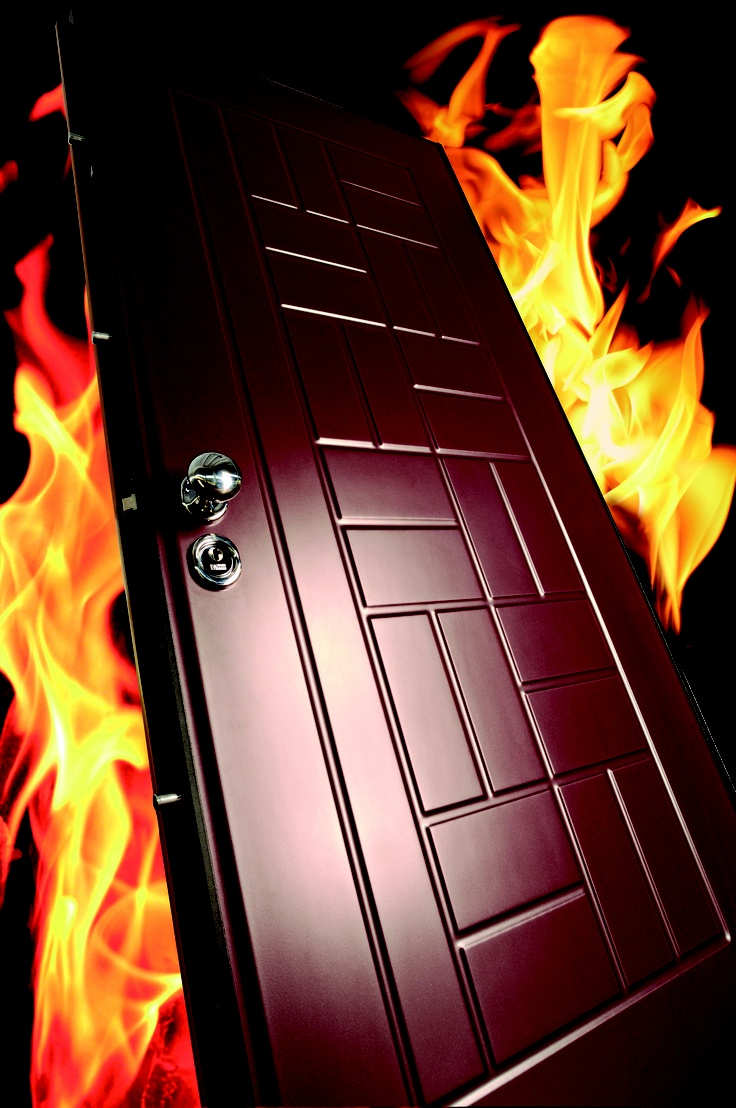 Fireproof security door Vighi