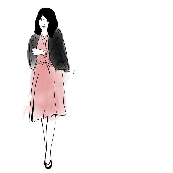Feeling a bit Jackie inspired with this illustration.