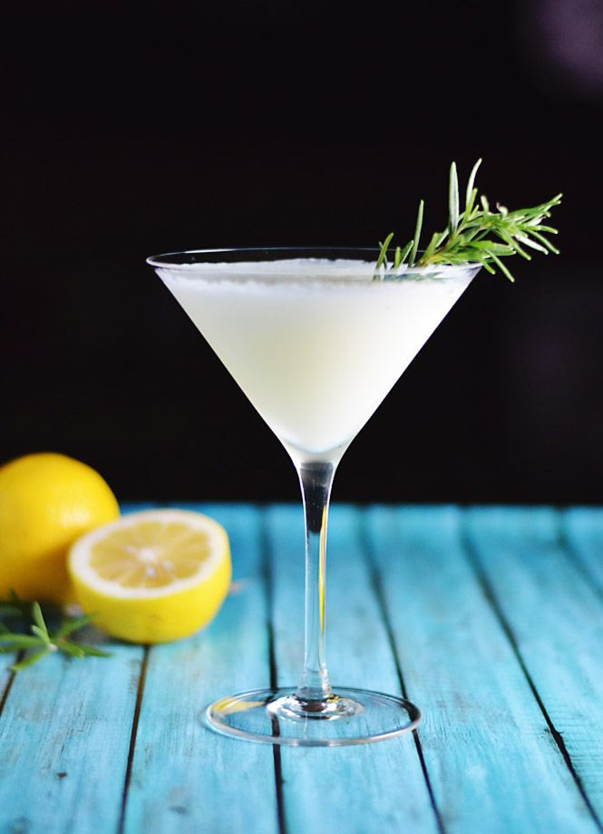 The classic white lady cocktail gets an herbal upgrade with rosemary simple syrup and I share my favorite craft American spirits.