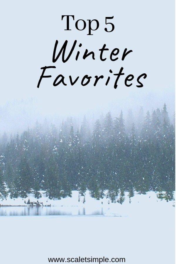 Winter Favorites | Seasons & Celebrations | TMD | Simple