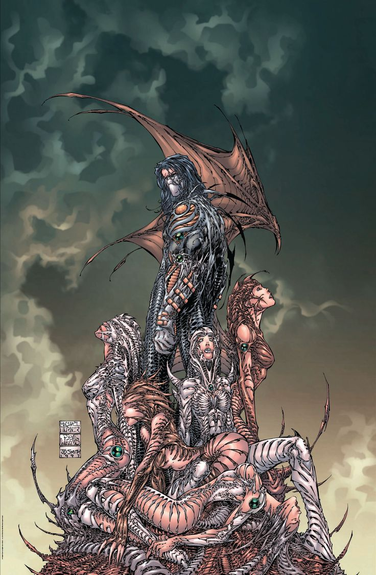 The Darkness by Michael Layne Turner, Joe Weems (Inker) and Jonathan D. Smith