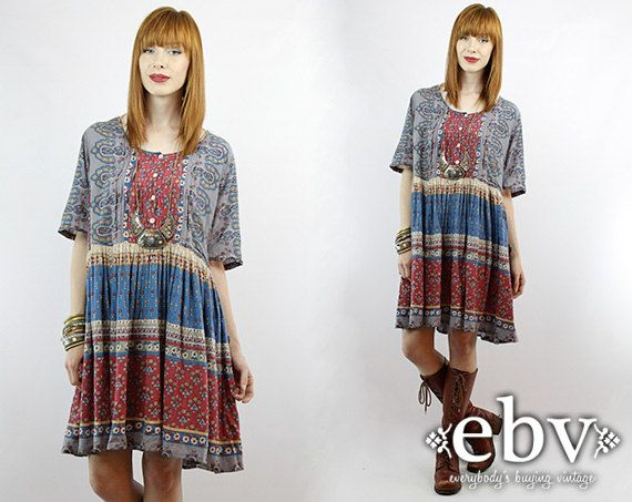 2 x summer dresses in cotton