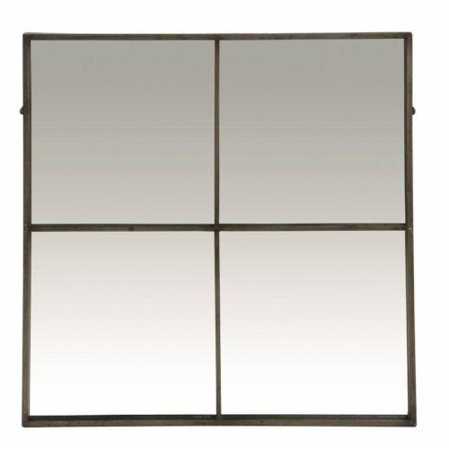 Pomax Spiegel 80 x 80 cm - Antiek Zilver