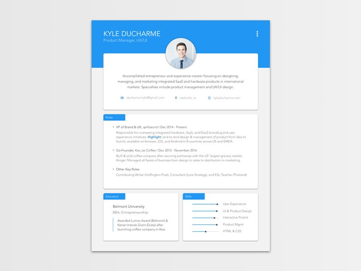... Las 25+ Mejores Ideas Sobre New Resume Format En Pinterest   New Style  Of Resume ...