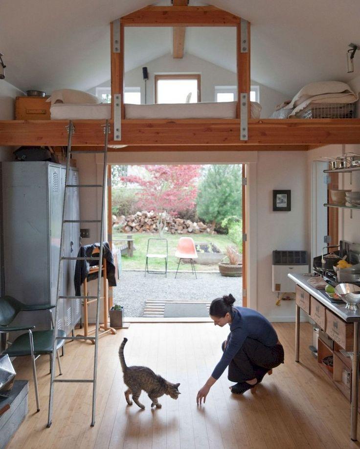 33 Awesome Modern Garage Apartment Designs Ideas