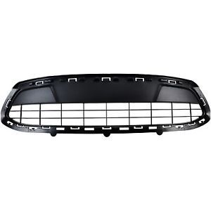 a oem new 2011 2013 ford fiesta front bumper black lower radiator grille