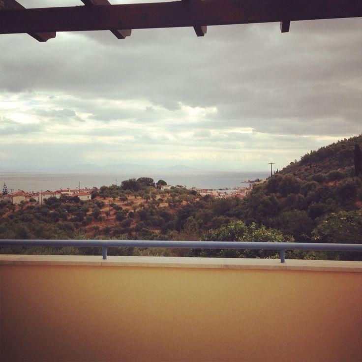 Gytheio view lakonia greece