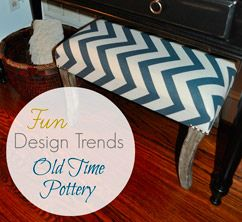 Design Trends at Old Time Pottery by Finding Fabulous