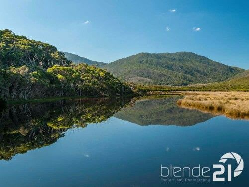 Perfect mirror: Tidal river in Wilson's Promontory, Australia #wilsonsprom #australia #wildlife