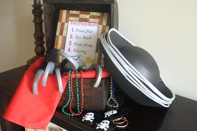 Für den Piraten-Geburtstag. Cool, wenn alle Kids sich als Pirat verkleiden können.