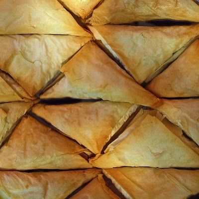 Spanakopita ~ spinach & feta pie ... (step-by-step directions in photos)