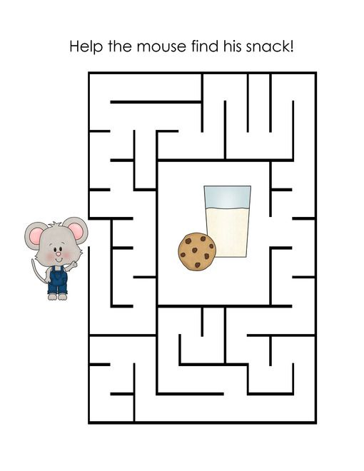 FREE If You Give a Mouse a Cookie Lapbook Printables