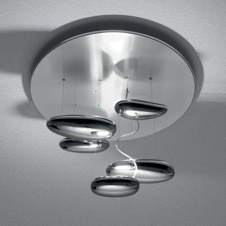 lovalight artemide u2013 mercury soffitto by ross lovegrove - Artemide Lighting