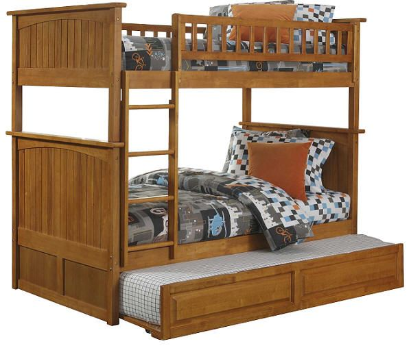 $770 Bates Twin over Twin Bunk Beds