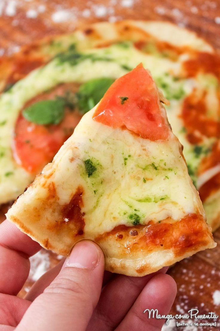 Pizza de Frigideira com Massa Caseira