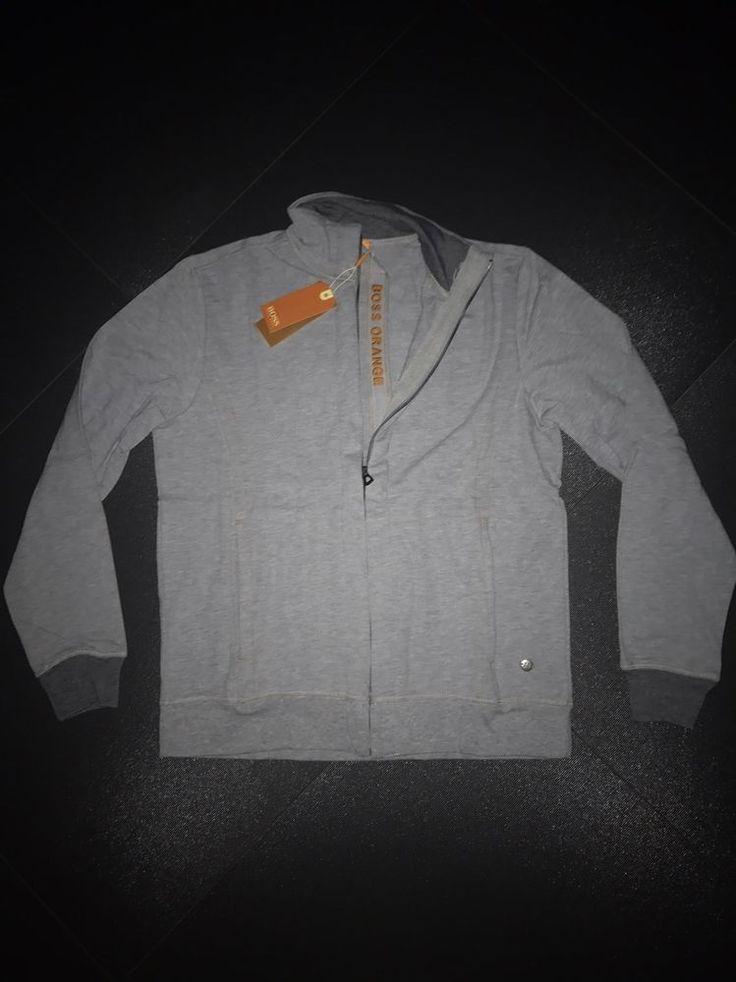 Hugo Boss Orange Long-sleeve top shirt  size XL Color Gray #HUGOBOSS #BasicTee