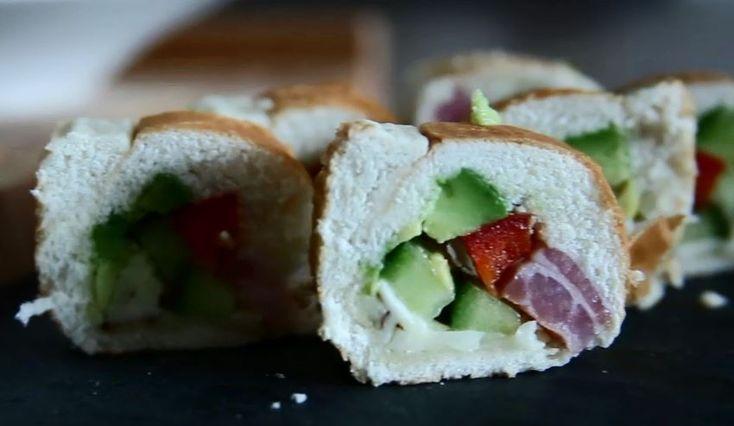 Sandwich-Sushi: Die Video-Anleitung