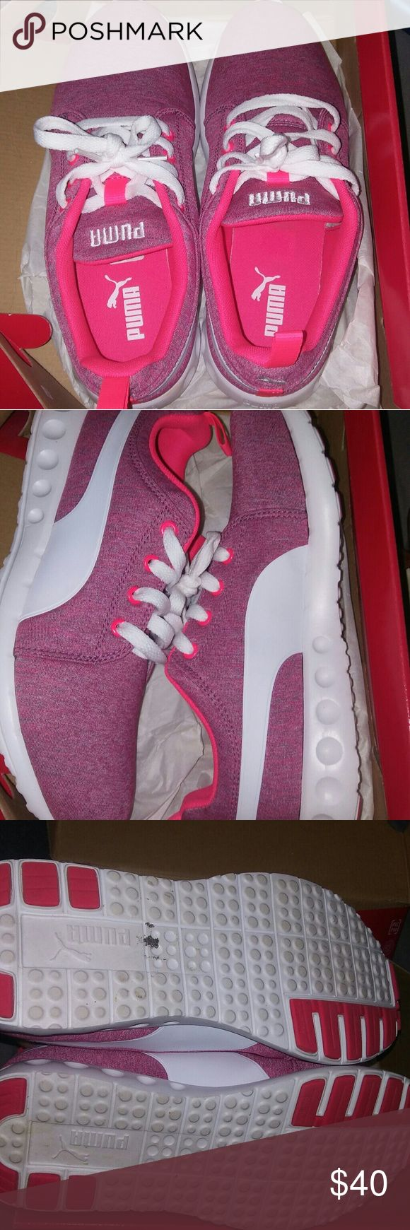 Pink puma's 8.5 Pink pumas women's 8.5 worn maybe 3 times Puma Shoes