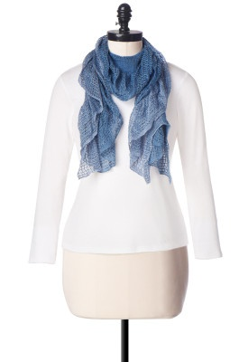 Two Tone Lurex Scarf - Christopher & Banks