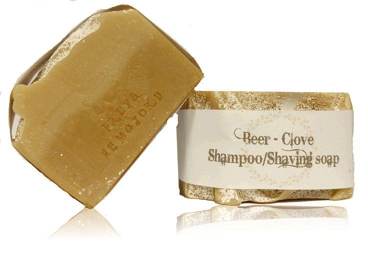 Beer-Clove Shampoo/Shaving soap