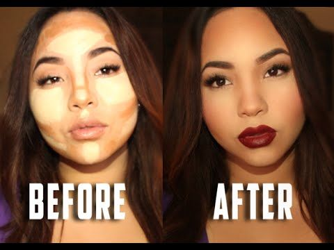 Contour & Highlight with Anastasia Beverly Hills Cream Contour Kit | ABH Liquid Lipstick in Heathers - YouTube