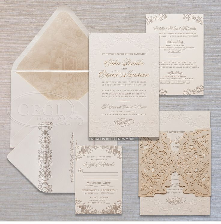 Luxury Wedding Invitations By Ceci New York: Best 25+ Luxury Wedding Invitations Ideas On Pinterest