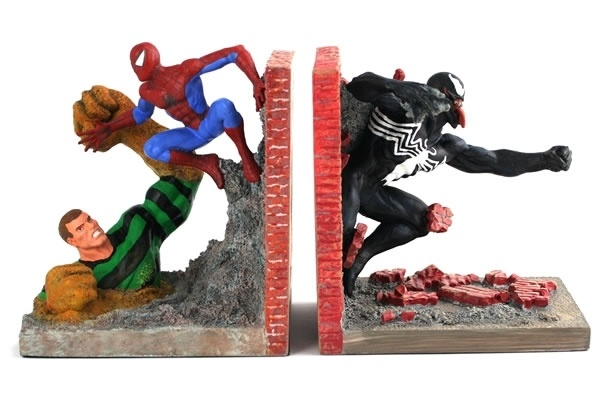 Spider Man Villain Bookends John 39 S Man Cave Pinterest
