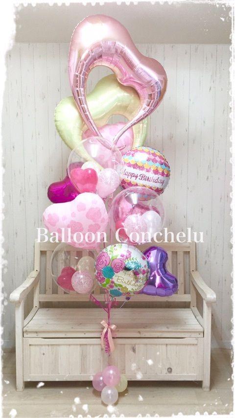健やかな1年を(*^ω^*)お誕生日…の画像   BalloonConchelu バルーンコンチェル