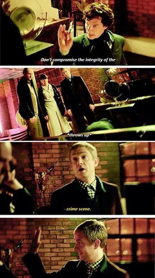 Sherlock 3x02 The Sign of Three