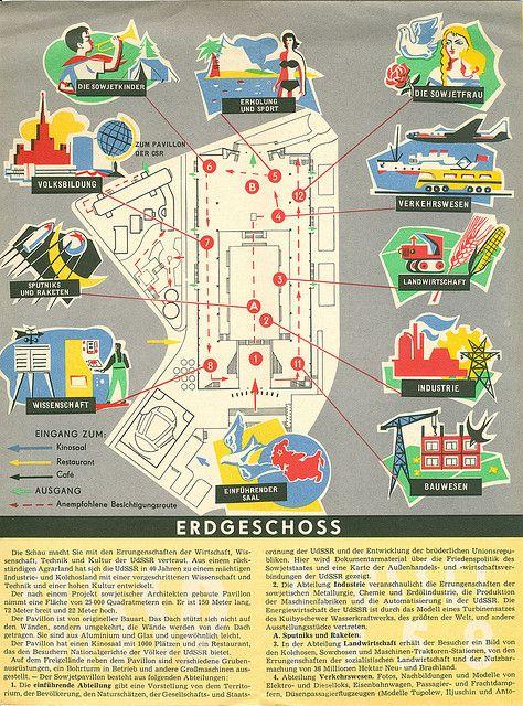 Pavillion der UdSSR Expo 1958 Brussels | Flickr - Photo Sharing!