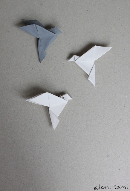 eilen tein: heijastin / origami