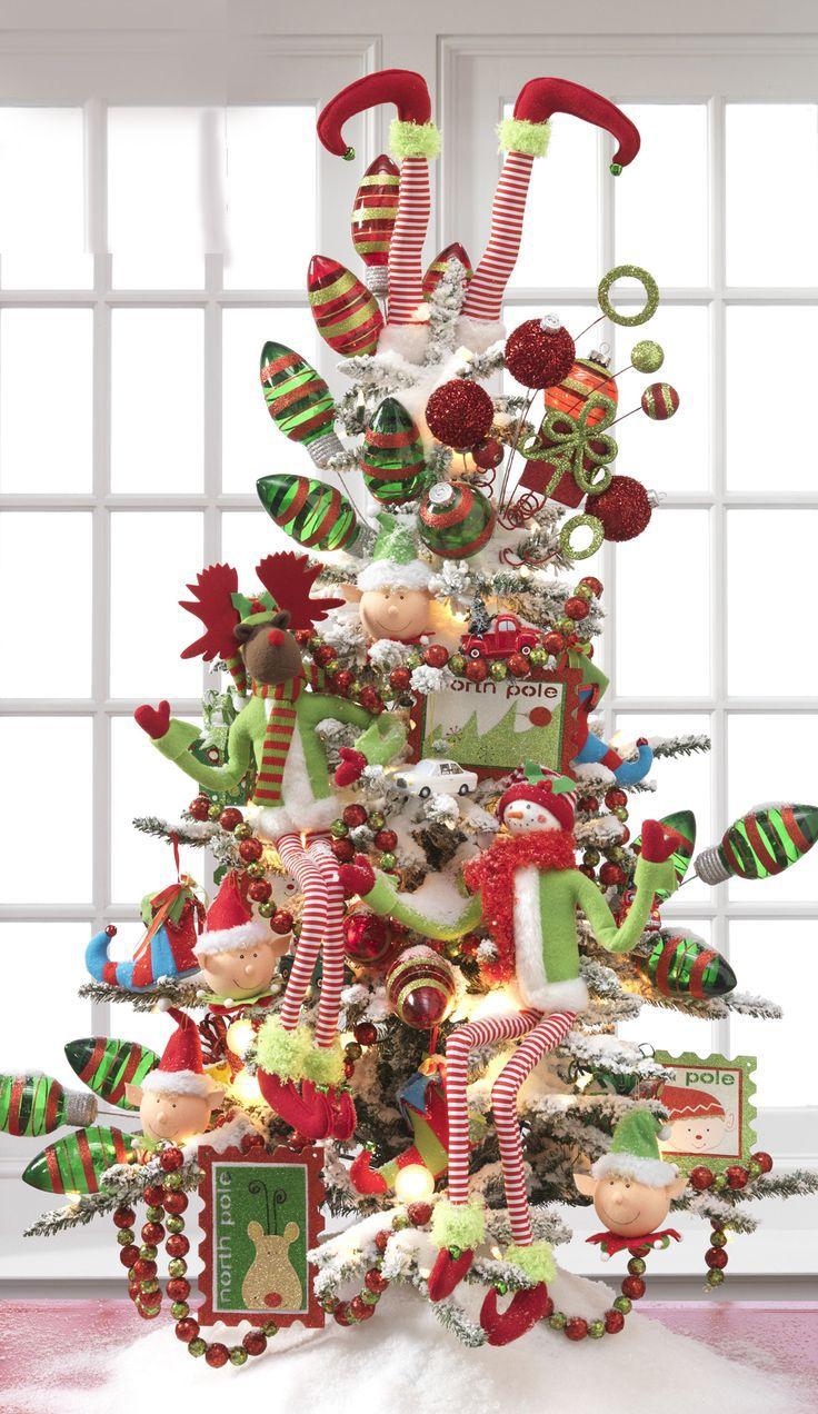 Ideas para decorar el rbol de navidad navidad adornos - Navidad adornos navidenos ...