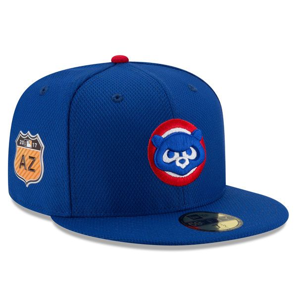 Chicago Cubs New Era 2017 Spring Training Diamond Era 59FIFTY Fitted Hat - Royal