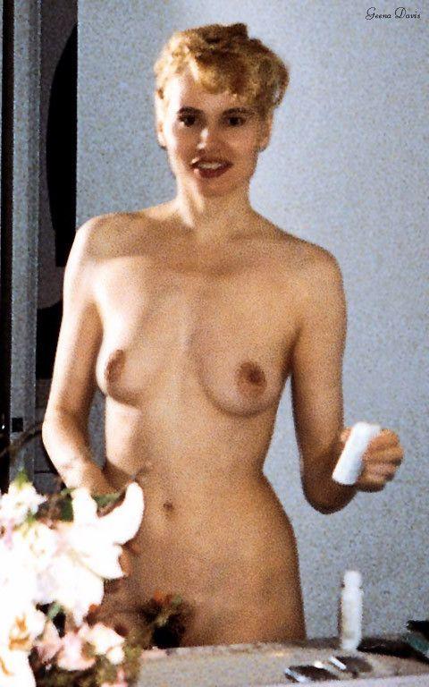Geena davies nude beach what here