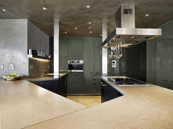 NYC Apartment Interior Kitchen By Stefan Boublil