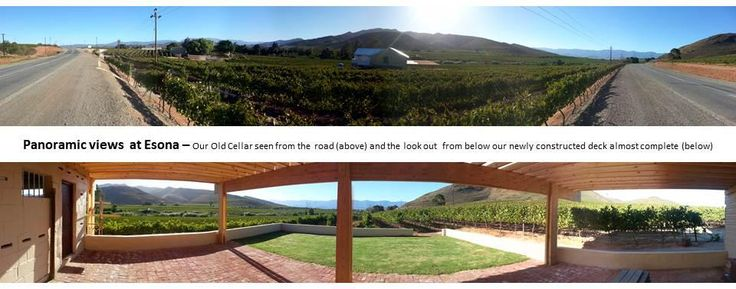 Esona Old Cellar now open for wine tasting, Underground Cellar Tour, Bring your own picnic or pre book a picnic/light lunch platter with us. Also do not miss our Taste the Difference Experience on appointment at R85pp.