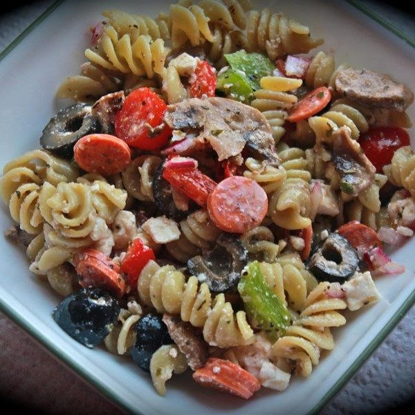 1316 best images about salad recipes on pinterest for Best summer pasta salad recipes ever