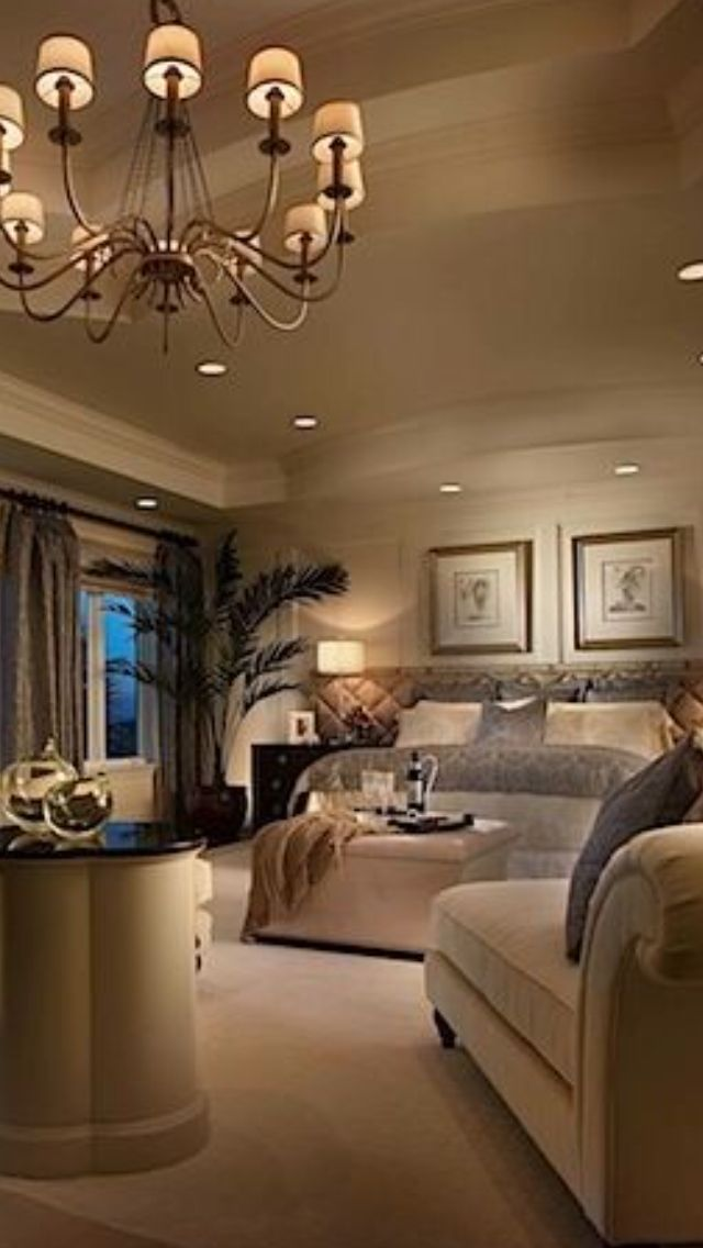 Luxurious bedroom luxurious homes pinterest for Living room 640x1136