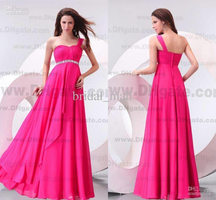 62 best Vestidos dama Rosa images on Pinterest | Pink bridesmaid ...