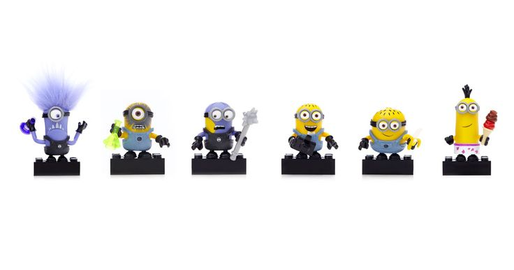Everyone's favorite Minions are about to unleash some major chaos with the Mega Bloks Despicable Me™ Buildable Minion Blind Packs Series I packs. Build your own loyal following and collect six popular Minion characters.They come in a blind pack, so you never know which one you will get. You can customize your Minions and mix and match overalls, goggles, accessories, even arms and feet. Collect them all to build your own mischief! Ideal for ages 4 and up Features: One mystery buildable…
