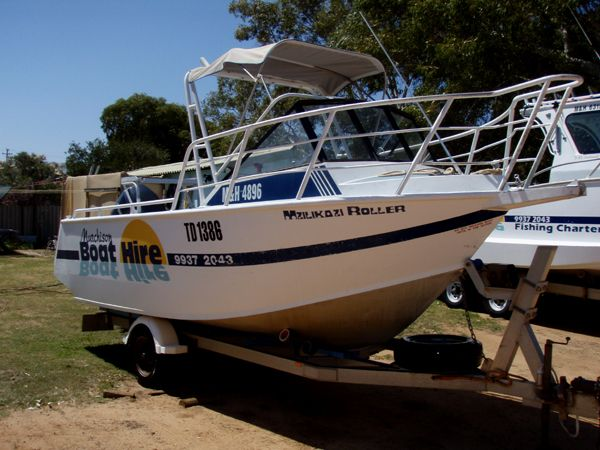 1997 5.0M MARINELINE ALUMINIUM RUNABOUT IN CURRENT 4C SURVEY MZILIKAZI ROLLER #boatforsale