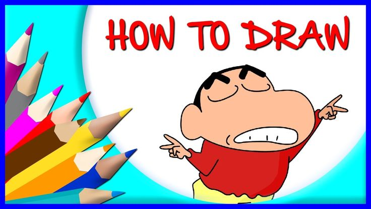 How to Draw Sinchan   Drawing Time Lapse   853672 HTD