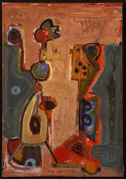 Lea Nikel – Untitled, 1955, 76x53 cm