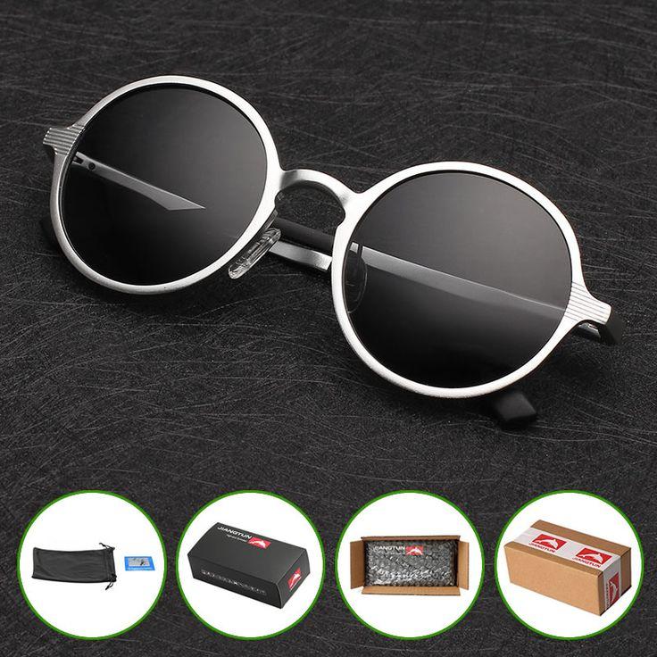 Aliexpress.com: Comprar Nuevo 2016 gafas de Sol Polarizadas de Los Hombres de La Vendimia Redonda de Metal Gafas de Sol de Diseñador de la Marca de Conducción Gafas de Moda Oculos gafas de sol de gafas de sol de alemania fiable proveedores en POLARSNOW offcial store