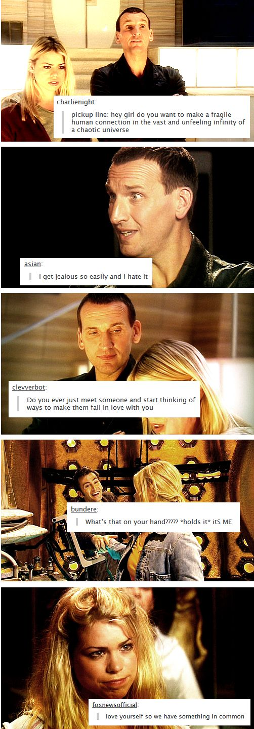 Doctor/Rose Tumblr Textposts
