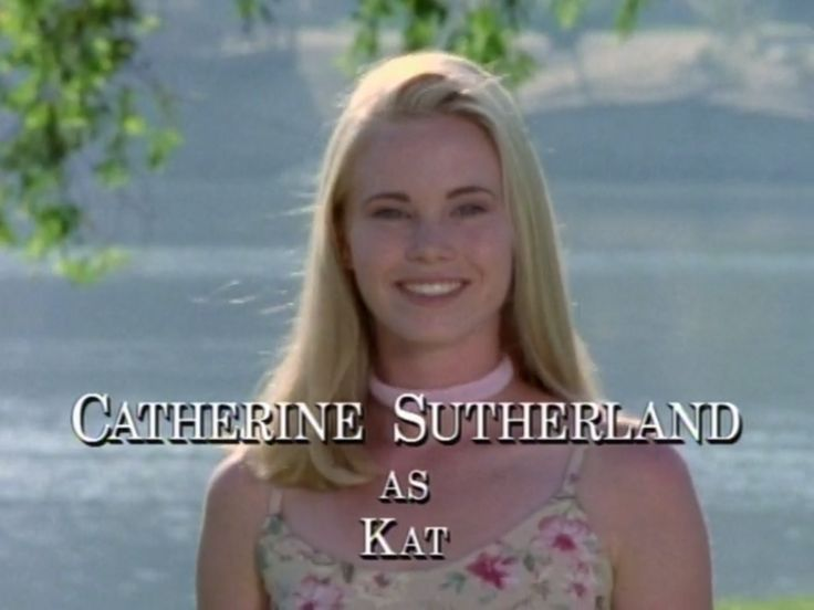 Catherine Sutherland as Kat - Mighty Morphin Power Rangers ...