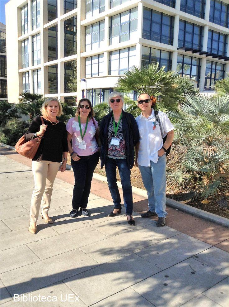 XV Workshop de #REBIUN, celebrado en Castellón los días 20 y 30 de septiembre.  Nuestras compañeras Mª Eugenia de Gabriel y Aurora Gómez-Pantoja